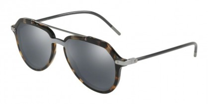 Dolce & Gabbana 0DG4330 31416G Blue Havana - Grey Mirror Black