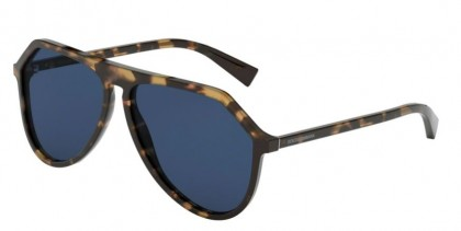 Dolce & Gabbana 0DG4341 314180 Havana Brown Blue - Blue
