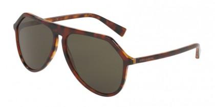 Dolce & Gabbana 0DG4341 322282 Dark Red Havana - Dark Green