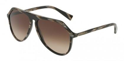Dolce & Gabbana 0DG4341 569/13 Brown Horn - Green