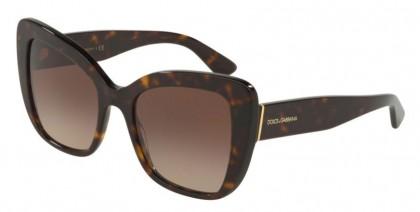 Dolce & Gabbana 0DG4348 502/13 Havana - Brown Gradient