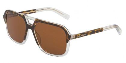 Dolce & Gabbana 0DG4354 757/73 Top Havana On Crystal - Brown