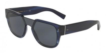 Dolce & Gabbana 0DG4356 318880 Striped Blue - Blue