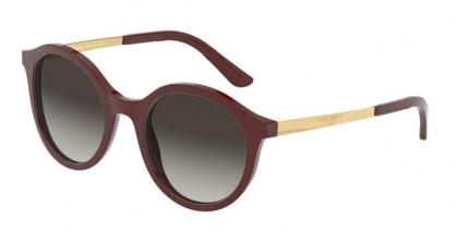 Dolce & Gabbana 0DG4358 30918G Bordeaux - Grey Gradient