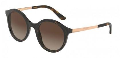 Dolce & Gabbana 0DG4358 502/13 Havana - Brown Gradient