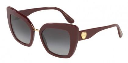 Dolce & Gabbana 0DG4359 30918G Bordeaux - Grey Gradient