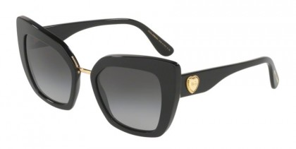Dolce & Gabbana 0DG4359 501/8G Black - Grey Gradient