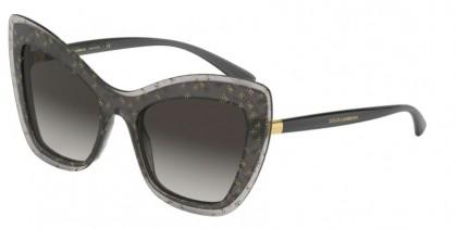 Dolce & Gabbana 0DG4364 32138G Grey Dg Gold - Grey Gradient
