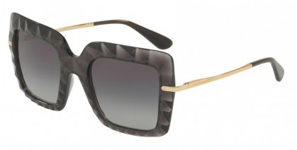 Dolce & Gabbana 0DG6111 504/8G Transparent Grey - Grey Gradient