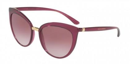 Dolce & Gabbana 0DG6113 17548H Transp Dark Cherry - Clear Gradient Dark Violet