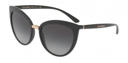 Dolce & Gabbana 0DG6113 501/8G Black - Grey Gradient