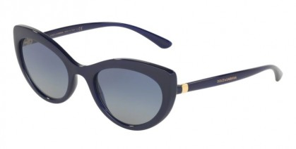Dolce & Gabbana 0DG6124 30944L Opal Blue - Light Grey Gradient Dark Blue