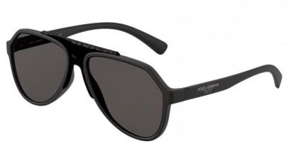 Dolce & Gabbana 0DG6128 252587 Matte Black - Grey