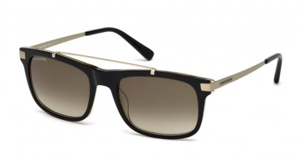 Dsquared2 DQ0218 05P Black Gold - Olive Shaded