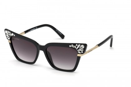 Dsquared2 DQ0293 01B Black - Grey Shaded