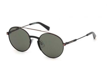 DSquared2 DQ0319 38N Black Bronze - Green