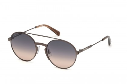 DSquared2 DQ0319 58B Matte Brown - Smoke Pink Shaded