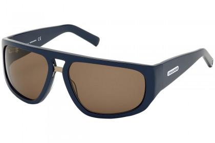 DSquared2 DQ0338 JUDD 90E Shiny Blue - Brown