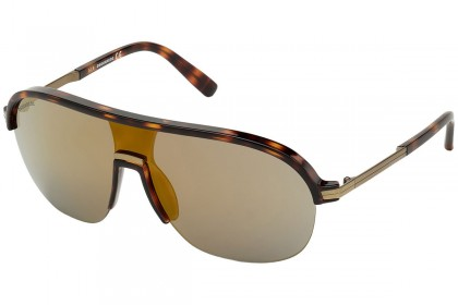 DSquared2 DQ0344 SHADY 52G Dark Havana - Mirrored Brown