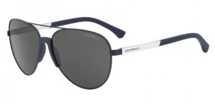 Emporio Armani 0EA2059 320287 Matte Blue - Grey