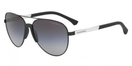 Emporio Armani 0EA2059 32038G Matte Black - Grey Gradient
