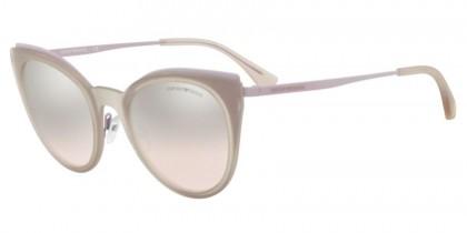 Emporio Armani 0EA2063 32178Z Matte Pink Violet - Light Brown Mirror Silver Grad