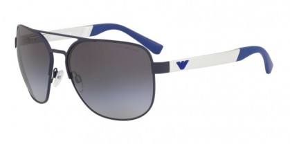 Emporio Armani 0EA2064 31318G Matte Blue - Grey Gradient