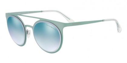 Emporio Armani 0EA2068 3244D6 Metallized Light Blue - Gradient Blue Mirror White