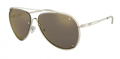 Emporio Armani 0EA2073 30135A Pale Gold - Light Brown Mirror Gold