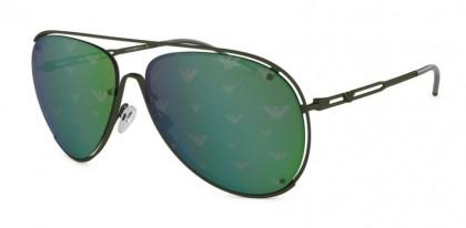 Emporio Armani 0EA2073 32586R Matte Military Green - Green Tamp Eagle Silver Green