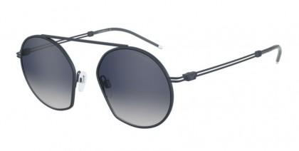 Emporio Armani 0EA2078 32531G Matte Blue - Grey Grad Blue Mirror Silver