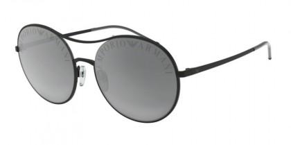 Emporio Armani 0EA2081 30016G Matte Black - Light Grey Mirror Black