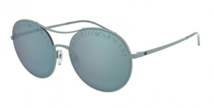 Emporio Armani 0EA2081 32686J Matte Azure - Blue Mirror White