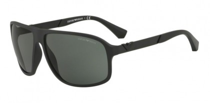 Emporio Armani 0EA4029 504271 ESSENTIAL LEASURE Matte Black - Green