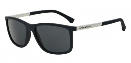Emporio Armani 0EA4058 547487 Blue Rubber - Grey