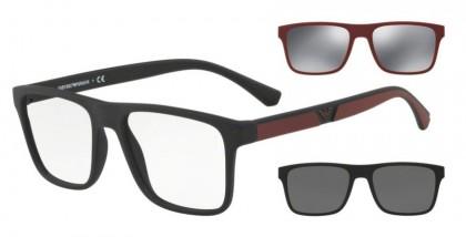 Emporio Armani 0EA4115 50421W Matte Black - Clear