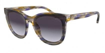 Emporio Armani 0EA4125 57154Q Violet Watercolor - Violet Gradient Grey