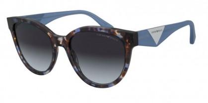 Emporio Armani 0EA4140 579719 Blue Havana - Gradient Grey Light Blue