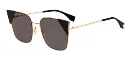 Fendi FF 0191/S 000 (2M) Gold - Brown