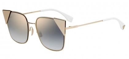 Fendi FF 0191/S 000 (FQ) Copper Gold - Gray Gradient Mirror