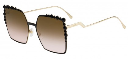 Fendi FF 0259/S 2O5/53 Black Gold - Brown Shaded Pink