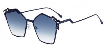 Fendi CAN EYE FF 0261/S PJP/08 Blue - Grey Gradient