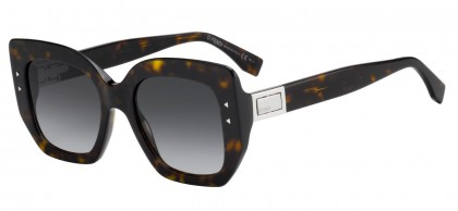 Fendi FF 0267/S 086 (9O) Dark Havana - Dark Grey Gradient