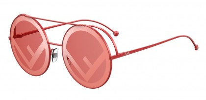 Fendi FF 0285/S C9A (0L) Red - Red Decor