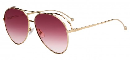 Fendi FF 0286/S 000 (3X) Copper Gold - Pink Double Gradient