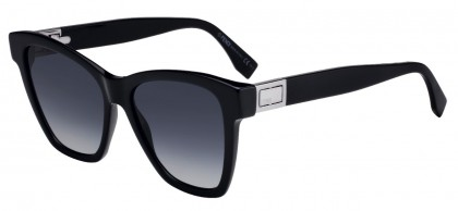 Fendi FF 0289/S 807 (9O) Black - Gray Gradient