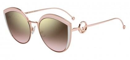 Fendi FF 0290/S 35J (53) Pink - Gold Pink Gradient