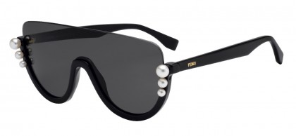 Fendi FF 0296/S 807 (IR) Black - Gray