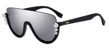 Fendi FF 0296/S KB7 (0T) Gray - Gray Antireflection