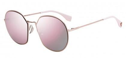 Fendi FF 0313/F/S 35J (0J) Pink - Pink Mirror